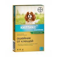 Килтикс ошейник от блох и клещей для мелких собак. 38 см