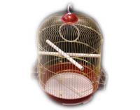 KREDO Клетка А 309 G для птиц золотая круглая