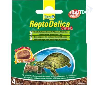 TETRA REPTODELICA SNACK Тетра Рептоделика Корм Для Водных Черепах с Дафнией Гелевый Блок