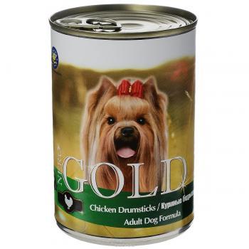 """Nero Gold Неро Голд консервы для собак """"Куриные бедрышки"""""""