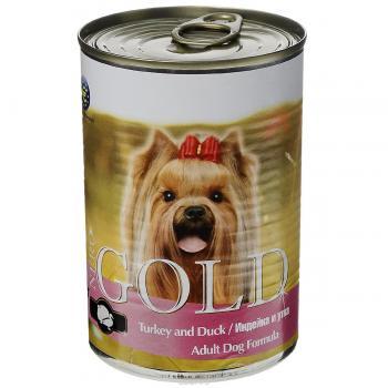 Nero Gold Неро Голд консервы для собак Индейка и Утка