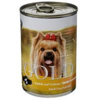 """Nero Gold Неро Голд консервы для собак """"Кролик и оленина"""", Rabbit and Venison"""