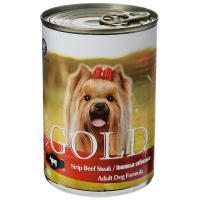 """Nero Gold Неро Голд консервы для собак """"Говяжьи отбивные"""""""