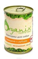 Organix Органик Консервы Для взрослых собак говядина с рубцом
