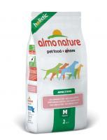 Almo Nature Алмо Нечерал Сухой корм Для Взрослых собак с Лососем (Medium&Salmon)