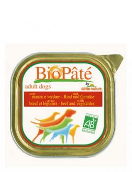 Almo Nature Алмо Нечерал Корм влажный Паштет для Собак с Говядиной и овощами (Bio Pate Beef&Vegetables)