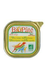 Almo Nature Алмо Нечерал Корм влажный Паштет для Собак с Курицей и овощами (Bio Pate Chicken&Vegetables)