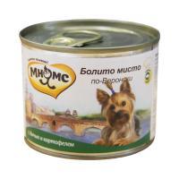 Мнямс Болито мисто по-веронски Дичь с картофелем для собак