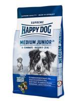Happy dog Сухой корм Для щенков средних пород: 6-15мес. (Supreme Medium Junior 25)