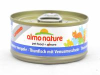 Almo Nature Алмо Нечерал Корм влажный Консервы Для Кошек с Тунцом и Моллюсками