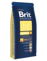 Brit Сухие корма Premium для щенков средних пород: 2-12мес. (Junior M) 132364