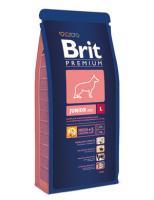 Brit Сухой корм Premium для щенков крупных пород: 4-24мес. (Junior L) 132359