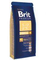 Brit Сухой корм Premium Для собак средних пород (10-25кг): 1-6лет (Adult M) 132358