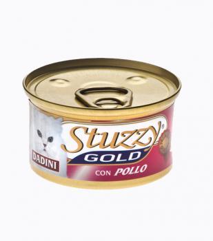 STUZZY GOLD Штузи Влажный корм для взрослых кошек Курица, кусочки