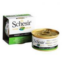 Schesir Корм влажный для кошек тунец с цыплёнком