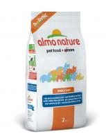 Almo Nature Алмо Нечерал Сухой корм Для Взрослых кошек с Белой рыбой и коричневым рисом (Adult Cat White Fish&Rice)