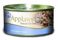 Applaws консервы для кошек с океанической рыбой, Cat Ocean Fish
