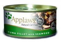 Applaws консервы для кошек с филе тунца и морской капустой, Cat Tuna Fillet & Seaweed