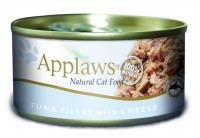 Applaws консервы для кошек с филе тунца и сыром, Cat Tuna Fillet & Cheese