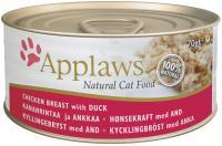 Applaws консервы для кошек с курицей и уткой, Cat Chicken & Duck