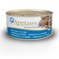 Applaws консервы для кошек с тунцом и крабовым мясом, Cat Tuna & Crab