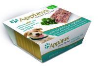 Applaws Эплоус паштет для собак с океанической рыбой и овощами, Dog Pate with Ocean Fish & vegetables