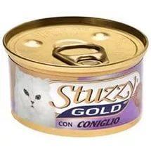 STUZZY GOLD Штузи Влажный корм для взрослых кошек Кролик, мусс