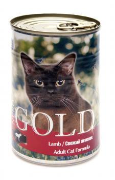 Nero Gold Неро Голд консервы для кошек Свежий Ягненок