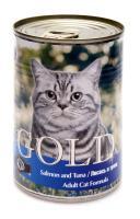 Nero Gold Неро Голд консервы для кошек Лосось и Тунец