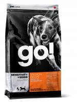GO! Natural Salmon & Oatmeal Dog Гоу Сухой корм для щенков и собак со свежим лососем и овсянкой