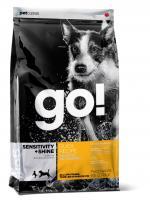 Go Natural Duck Formula Dog 22/12 для щенков и собак с цельной уткой и овсянкой