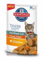 Hill?s™ Science Plan™ Young Adult Chicken Влажный корм пауч Для Кошек Курица