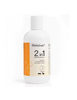 GlobalVet Pet Products Шампунь с конденционером для кошек и собак (Care Shampoo 2in1)