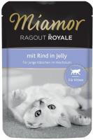 MIAMOR Ragout Royale Kitten Rind in Jelly Миамор Влажный корм для Котят рагу в Желе Говядина
