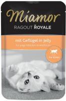 MIAMOR Ragout Royale Kitten Geflugel in Jelly Миамор Влажный корм для Котят рагу в Желе Домашняя Птица