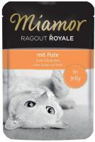 MIAMOR Ragout Royale Adult Cat Pute in Jelly Миамор Влажный корм для взрослых кошек телятина