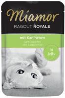 MIAMOR Ragout Royale Adult Cat Kaninchen in Jelly Миамор Влажный корм для взрослых кошек рагу в Желе Кролик