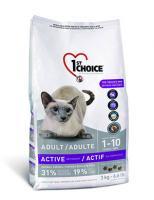 1st Choice  Сухой корм Для активных кошек с цыпленком (1-10 лет) (Active or Finicky)