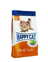 Happy Cat Сухой корм Для кошек с атлантическ. лососем (Adult mit Atlantik- Lachs)