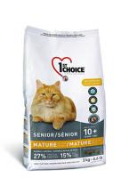 1st Choice Сухой корм Для пожилых кошек (старше 10 лет) - на курице (Mature or Less Active)