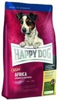"""Happy dog Сухой корм """"Мини Африка"""" для чувствительных собак малых пород с мясом страуса, Mini Africa"""