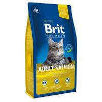 Brit Premium Cat Adult Salmon Брит Премиум Сухой корм для взрослых кошек с лососем в соусе