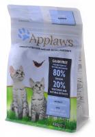 """Applaws Эплоус беззерновой сухой корм для котят """"Курица/Овощи: 80/20%"""", Dry Cat Kitten"""