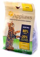 "Applaws Эплоус беззерновой сухой корм для кошек ""Курица/Овощи: 80/20%"", Dry Cat Chicken"