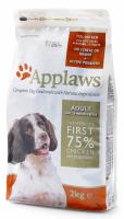 "Applaws Сухой беззерновой корм для собак малых и средних пород ""Курица/Овощи"", Dry Dog Chicken Small & Medium Breed Adult"
