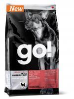GO! NATURAL Holistic Гоу Натурал беззерновой сухой корм для собак с лососем для чувствительного пищеварения