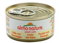 Almo Nature Алмо Нечерал Корм влажный New Консервы для Кошек с Курицей и Сыром 75% (Legend Adult Cat Chicken&Cheese)