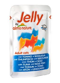Almo Nature Алмо Нечерал Паучи Тунец с Сардинками в Желе для кошек (Jelly Cat Tuna&White Bait)