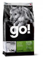 Go Ntural Гоу Натурал Беззерновой Сухой корм для щенков и собак с индейкой для чувствительного пищеварения,