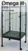 INTER-ZOO Клетка-вольер на колёсах для крупных попугаев OMEGA III (4мм)